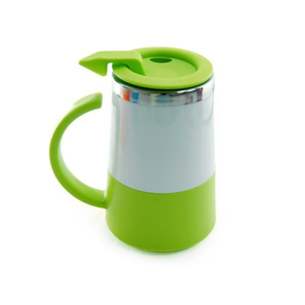 Two Tone Double Wall Stainless Steel Mug Household Products Drinkwares UMG1302Grn[1]